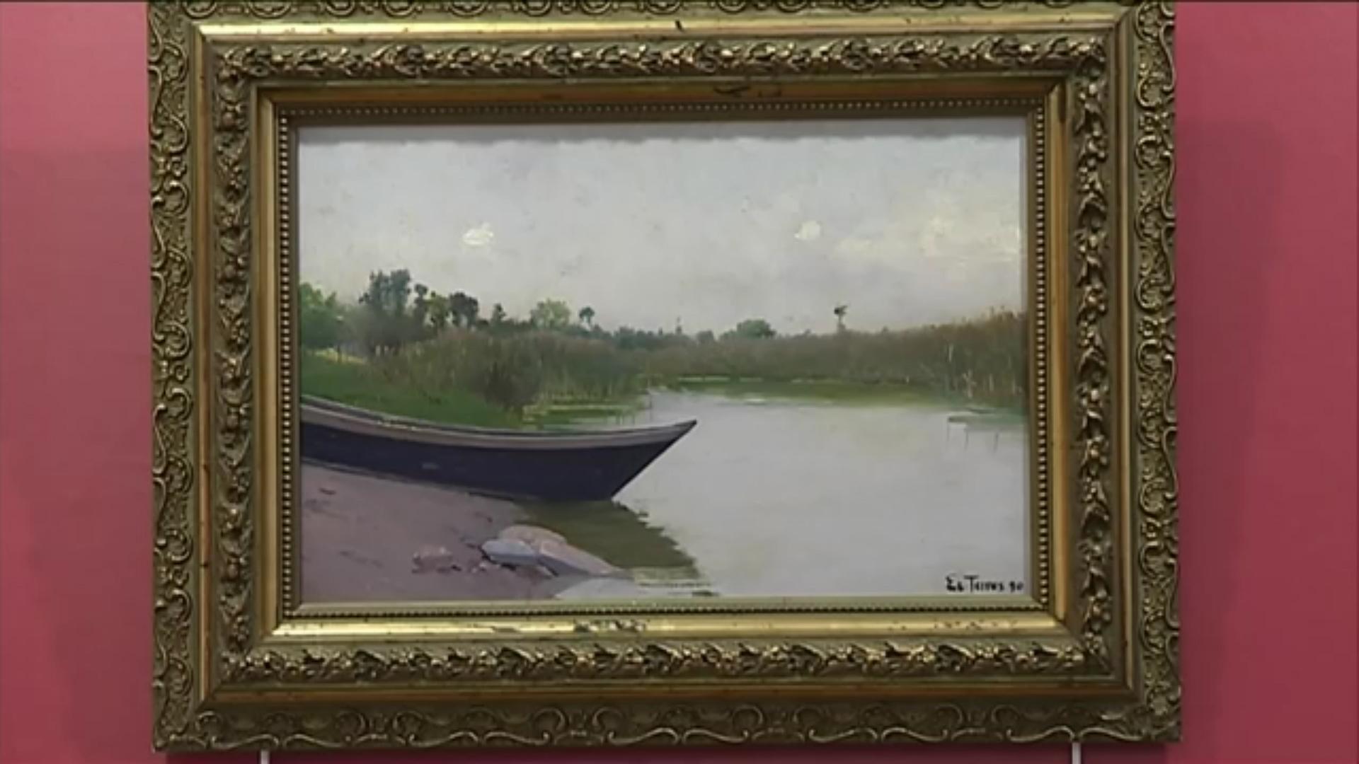 Schilderij Etienne Terrus