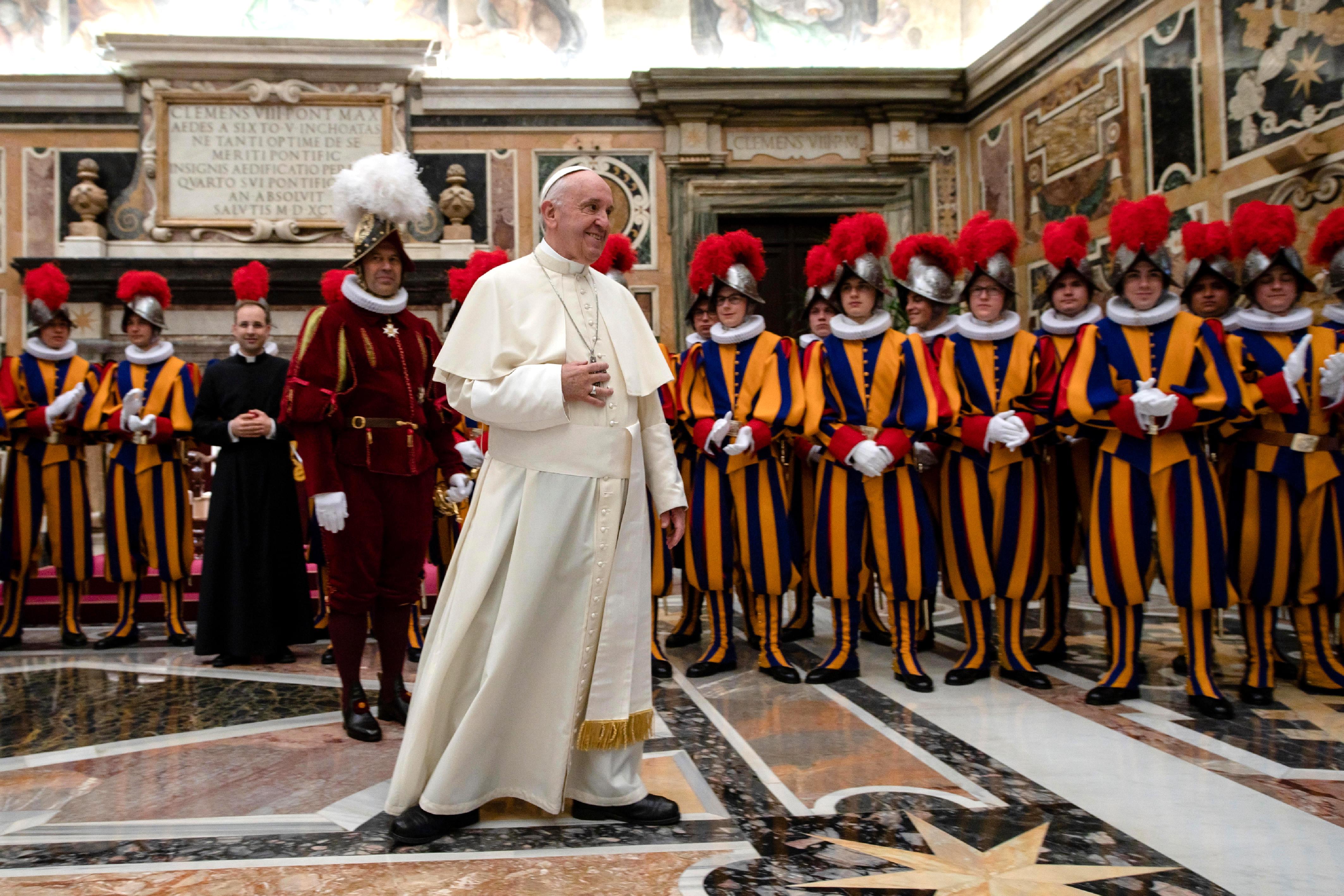 Soldaten van de paus