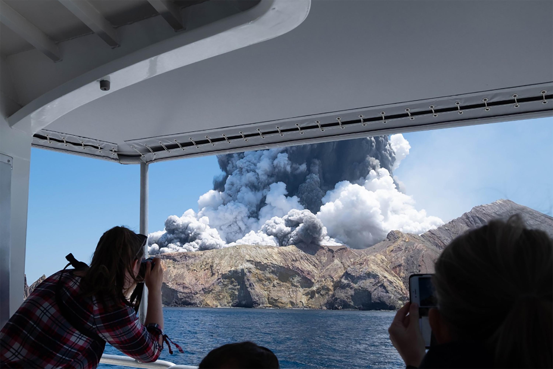 Vulkaan Nieuw-Zeeland