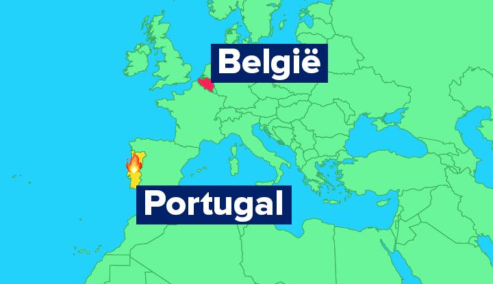 bosbrand Portugal