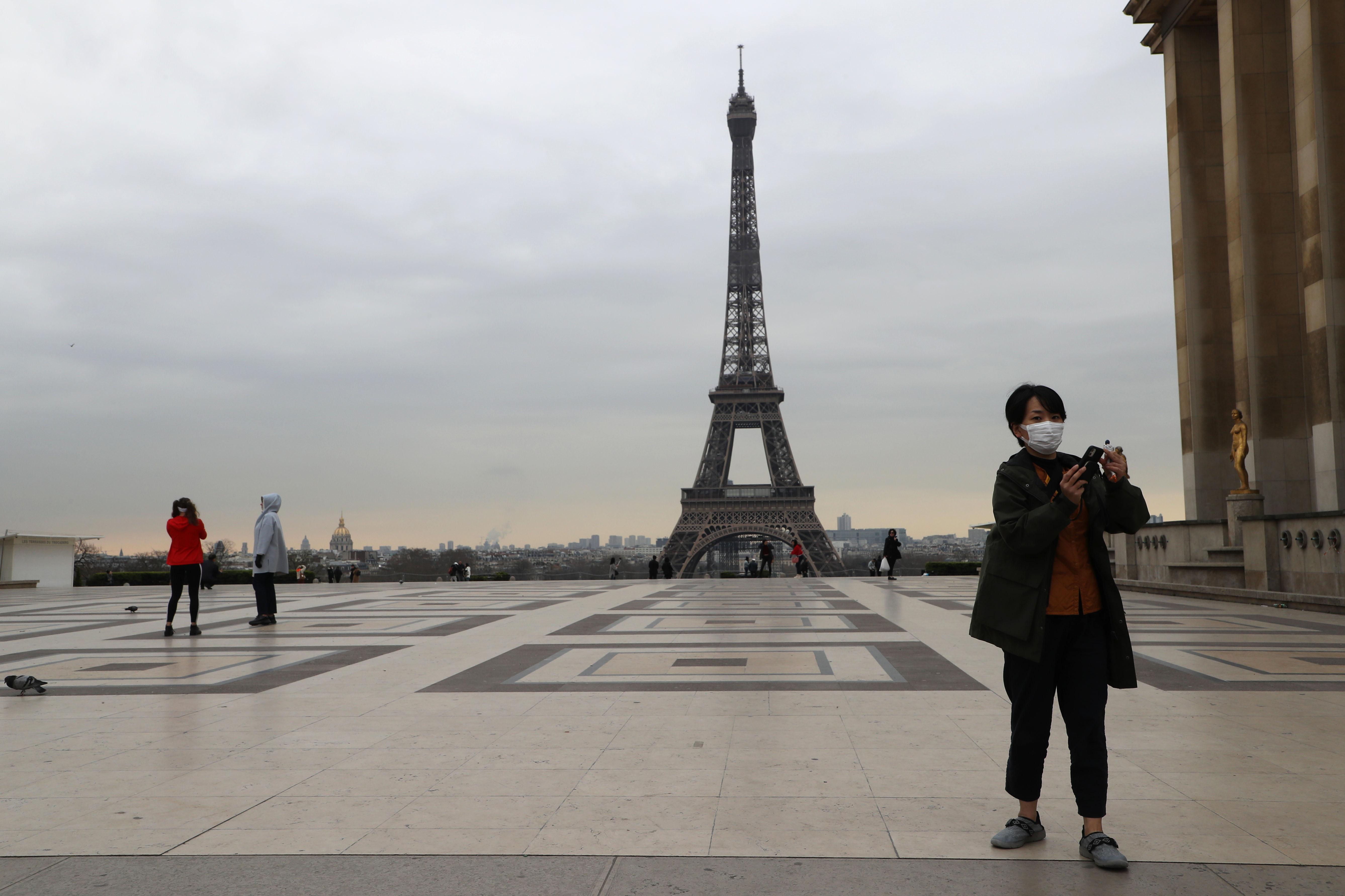 Frankrijk lockdown