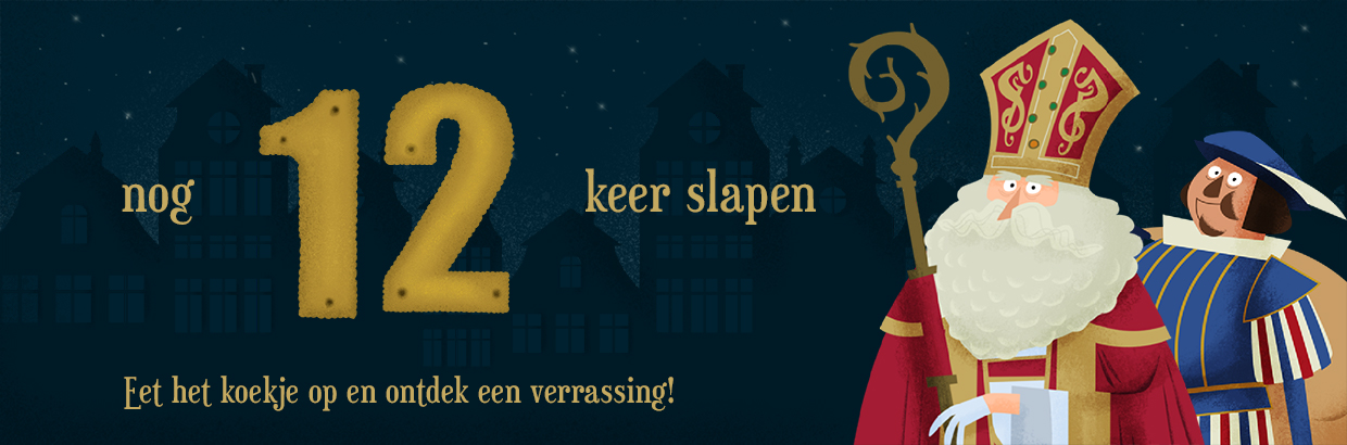 Sinterklaas Afteller