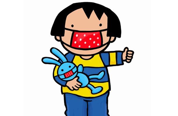 Anna leert peuters en kleuters omgaan met mondmaskers | Ketnet