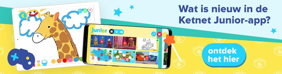 Nieuw in de Ketnet Junior-app