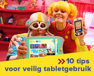 10 tips voor veilig tabletgebruik