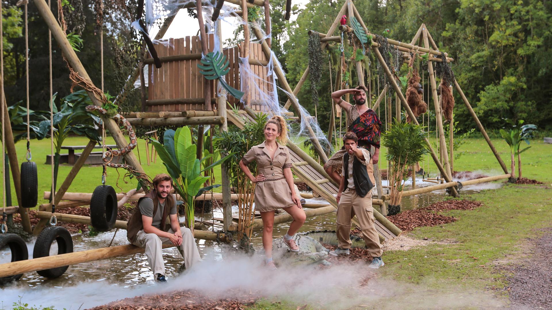 Bezoek het jungleparcours in Ternat