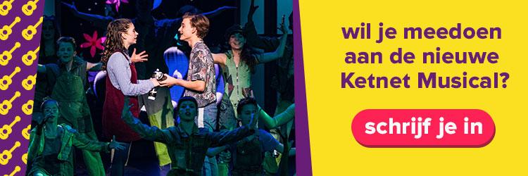 Schrijf je in voor Ketnet Musical!