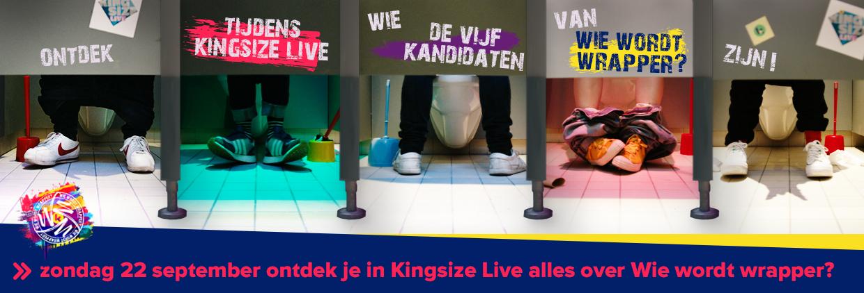 Kijk zondag naar Kingsize Live om 8.30 uur!