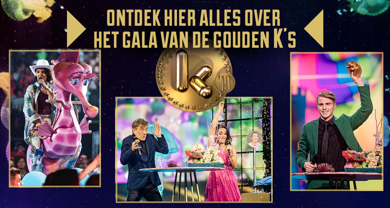 Ontdek hier alles over het Gala van de Gouden K's 2019!