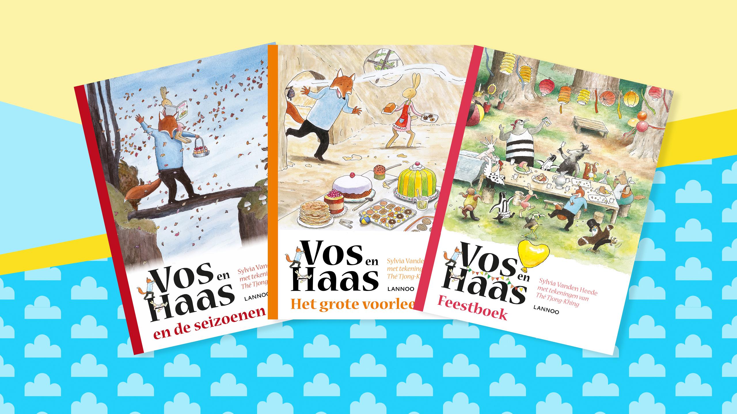 Vos en Haas boekenpakket